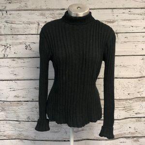 Banana Republic Turtleneck Sweater Gray